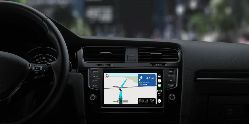 TomTom Releases Apple CarPlay App ahead of WWDC 2019