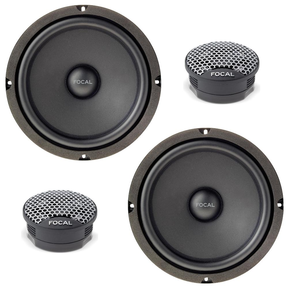 Focal ISU 200 Shallow Mount 8 inch speakers