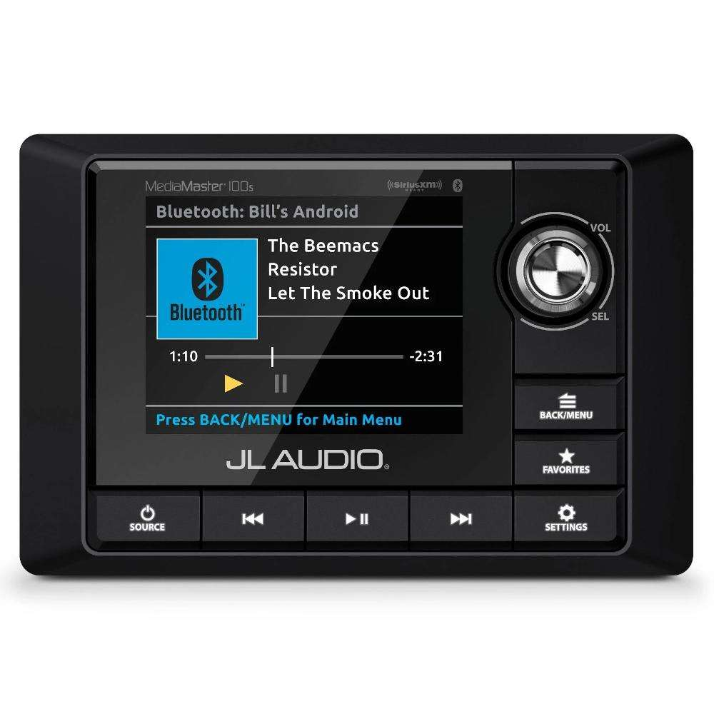 JL Audio MM100s-BE Marine source unit