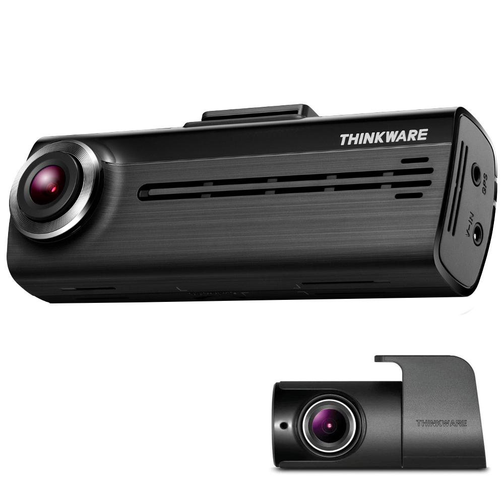 Thinkware Dash Cam F200 front and rear camera