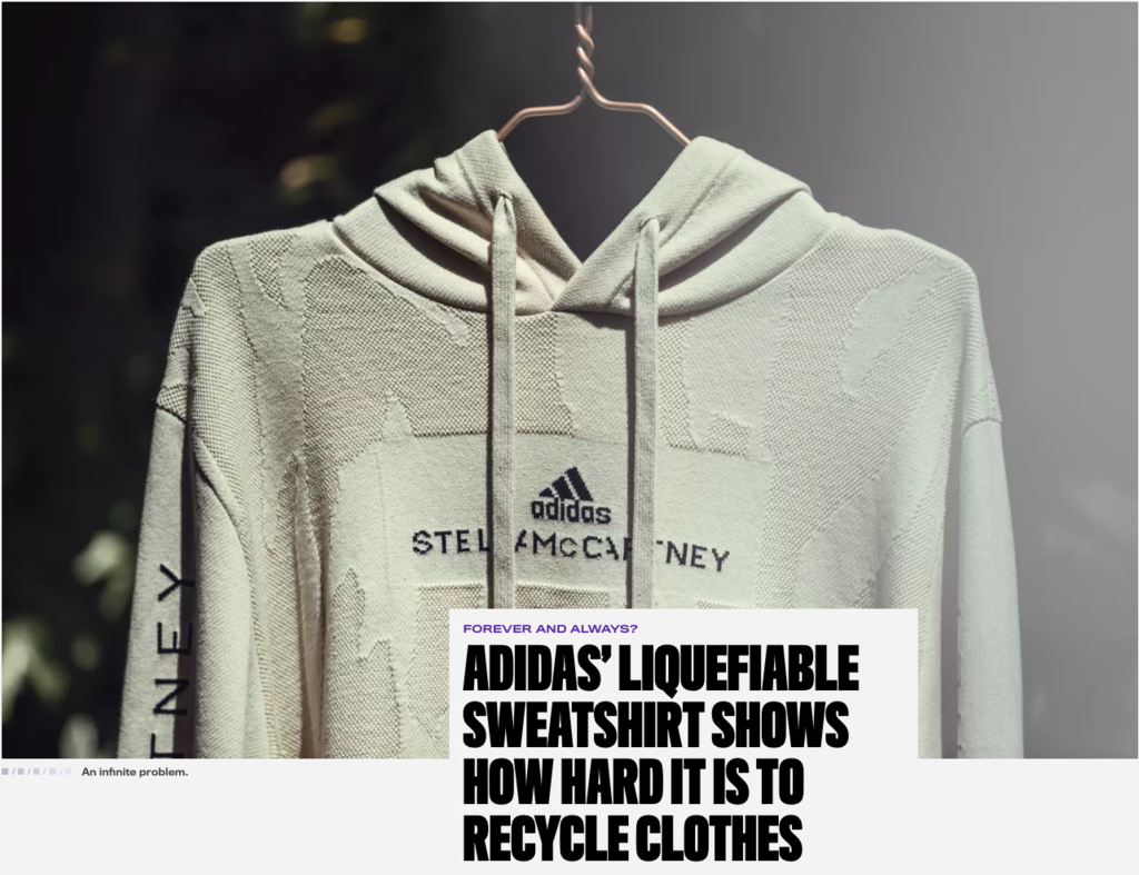 adidas and Stella McCartney