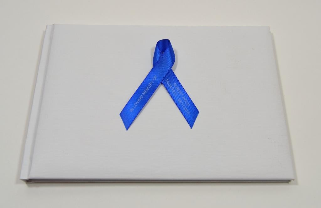 memorial ribbon book