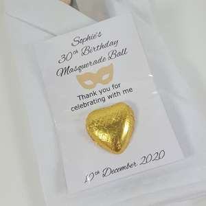 Masquerade Ball Favours