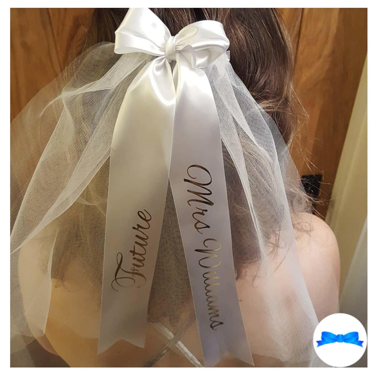 Personalised Hen Party Veils