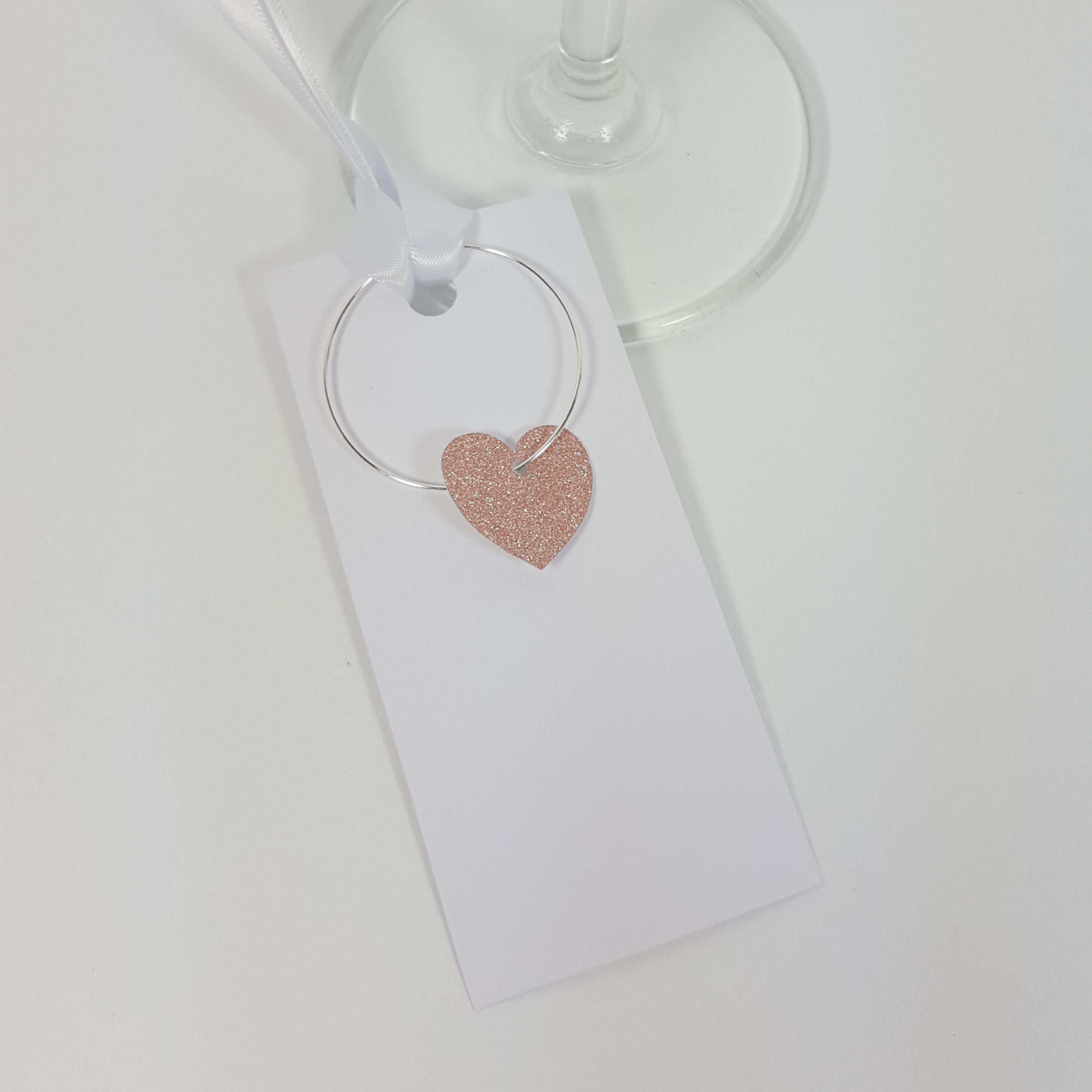 Personalised Wine Glass Party Charms