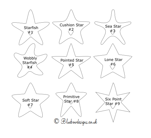 Star shapes for tags