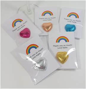 Rainbow thank you NHS nurse gifts keyworker