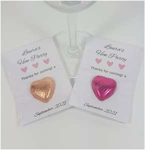 Wedding and Hen Party favours