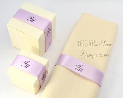 Purple Wedding napkins