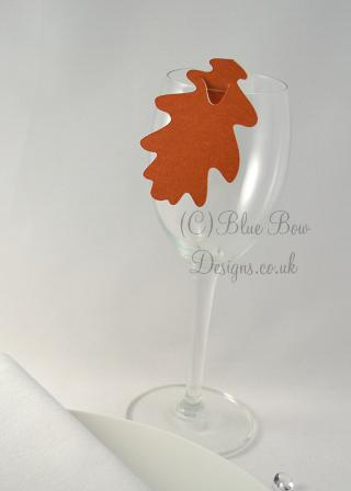 Seagull Wine Glass Place Cards Set of 20