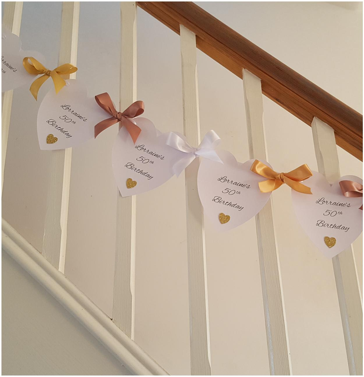 Personalised Birthday Party Bunting
