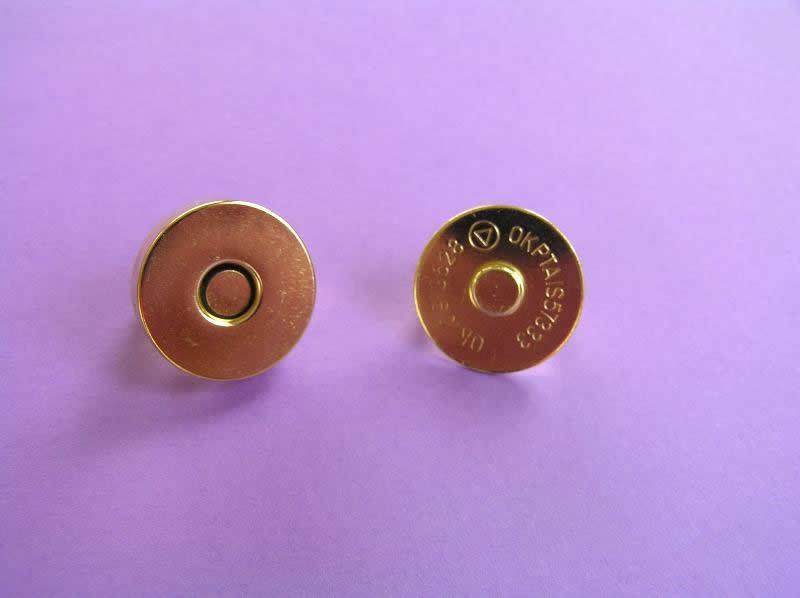 Magnetic Bag Fastener Gold