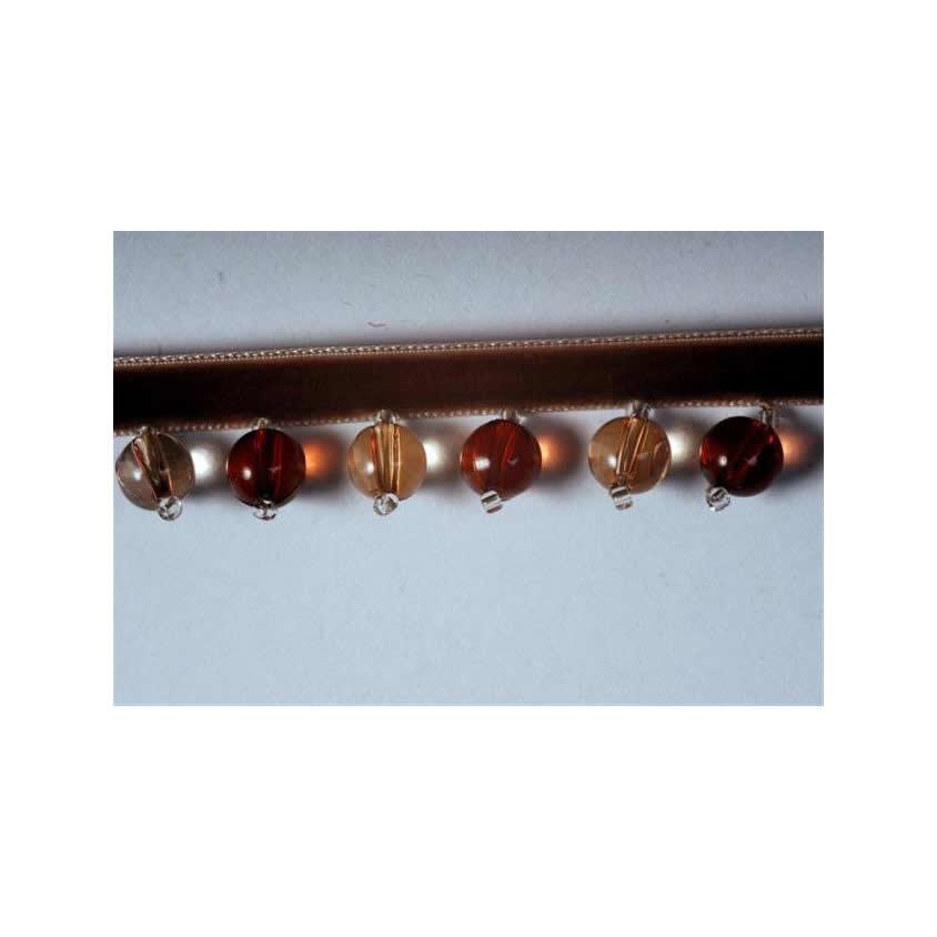 Amber B'Dazzle Small Beaded Trim