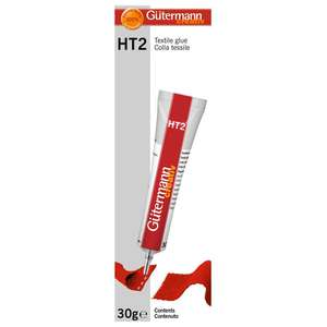 Gutermann HT2 Textile Glue with packaging
