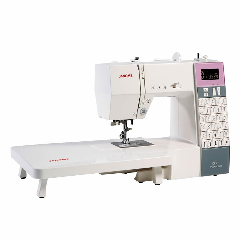 Janome DKS30 Special Edition Sewing Machine with table