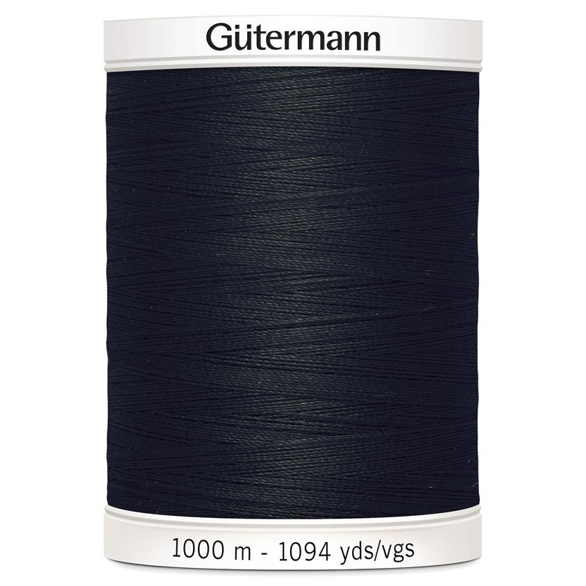 Gutermann Sew-All Thread 1000m Colour 000 (Black)