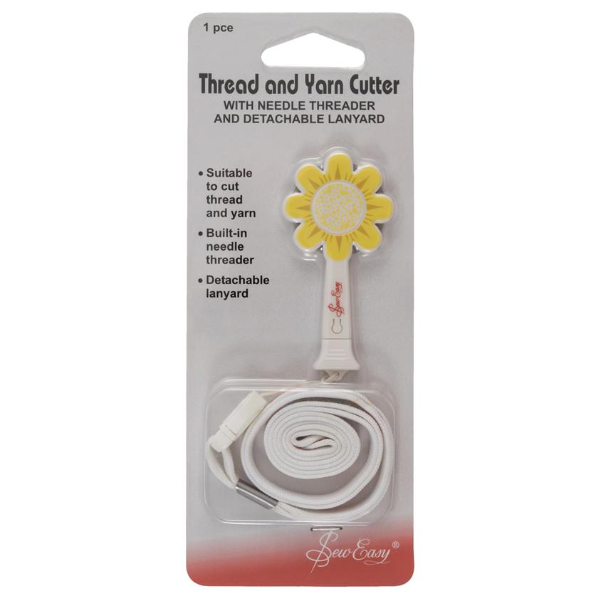 Sew Easy Daisy Thread and Yarn Cutter in packaging