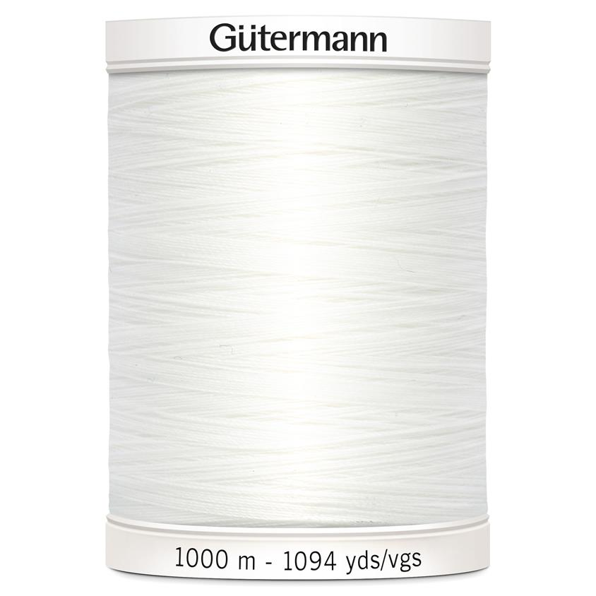 Gutermann Sew-All Thread 1000m Colour 800 (White)