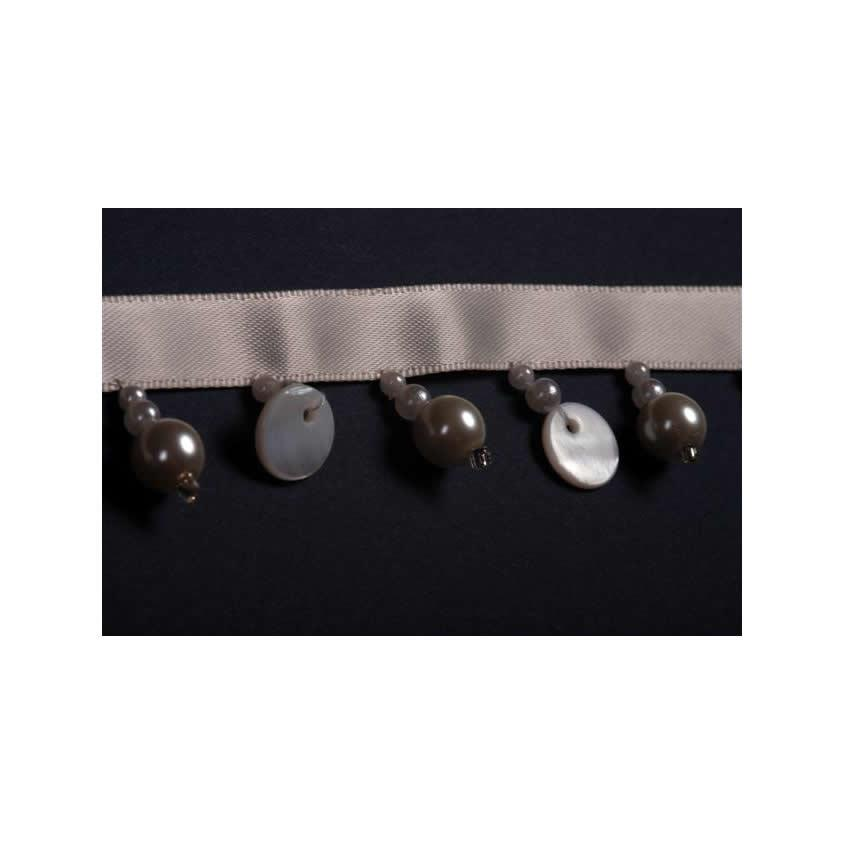 B'Dazzle Pearl & Button Beaded Trim