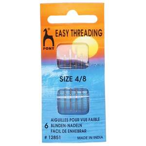 Pony Easy Threading Hand Sewing Needles