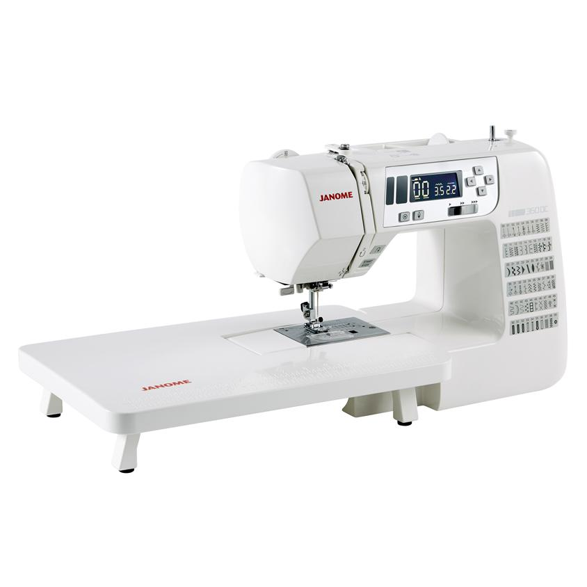 Janome 360DC Sewing Machine with table
