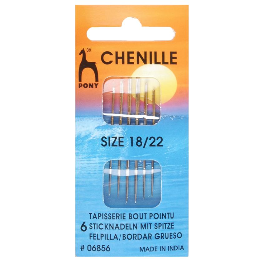 Pony Chenille Hand Sewing Needles
