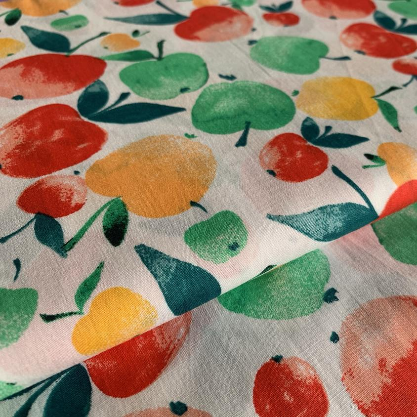 Apple Cotton Poplin