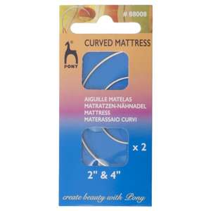 Pony Curved Mattress Hand Sewing Needles