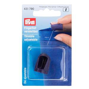 Prym Adjustable Thimble with packaging