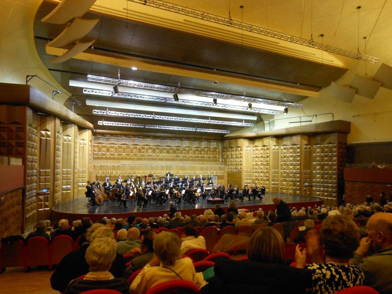 Sgambati symphony 2 new world premiere, Rome February 2014