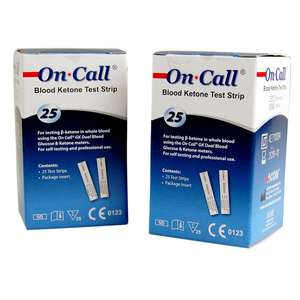 on call ketone test strips