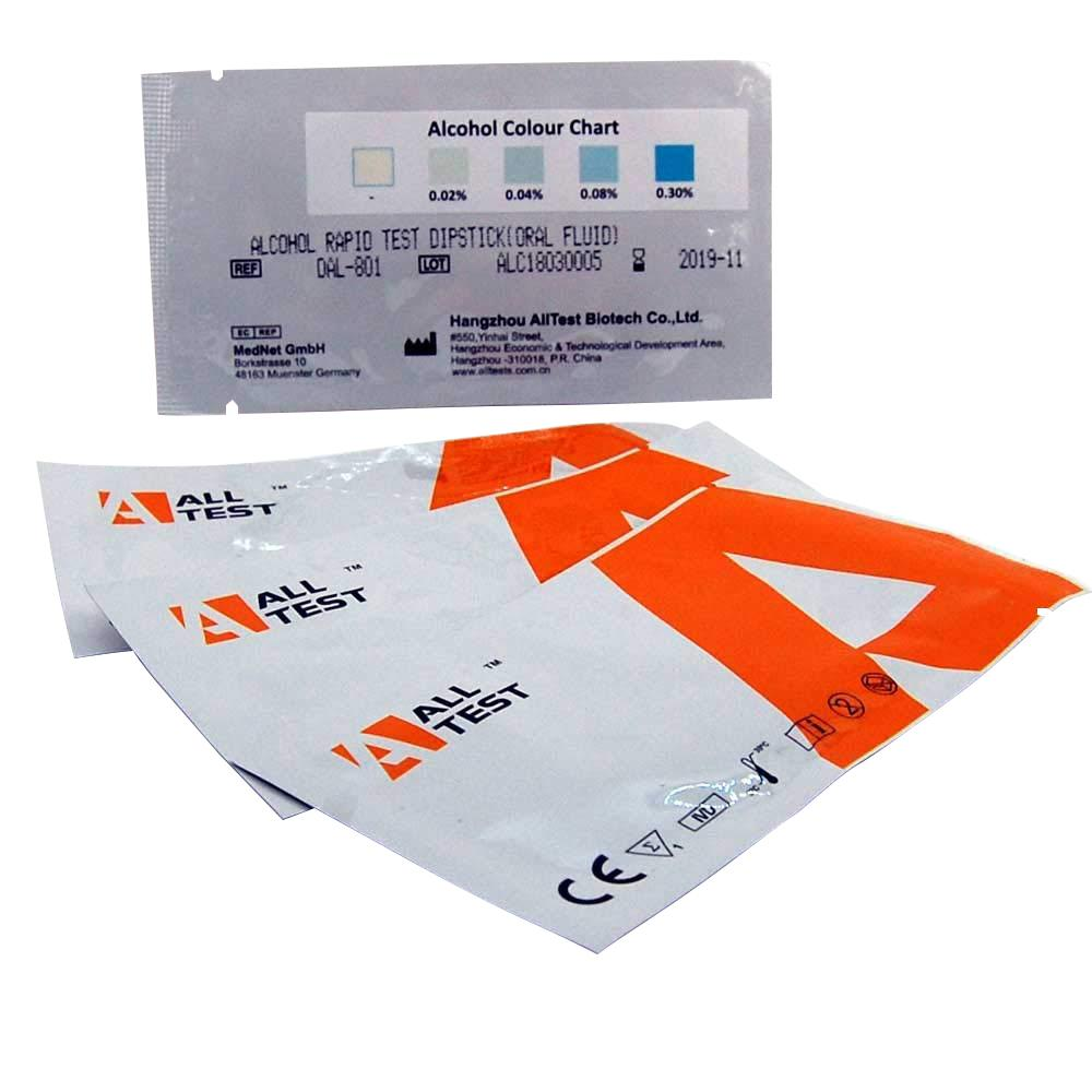 Wholesale alcohol test strips saliva