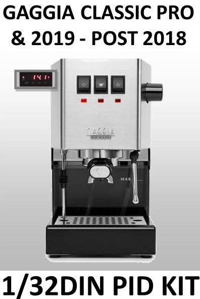 New Gaggia Classic PID kit