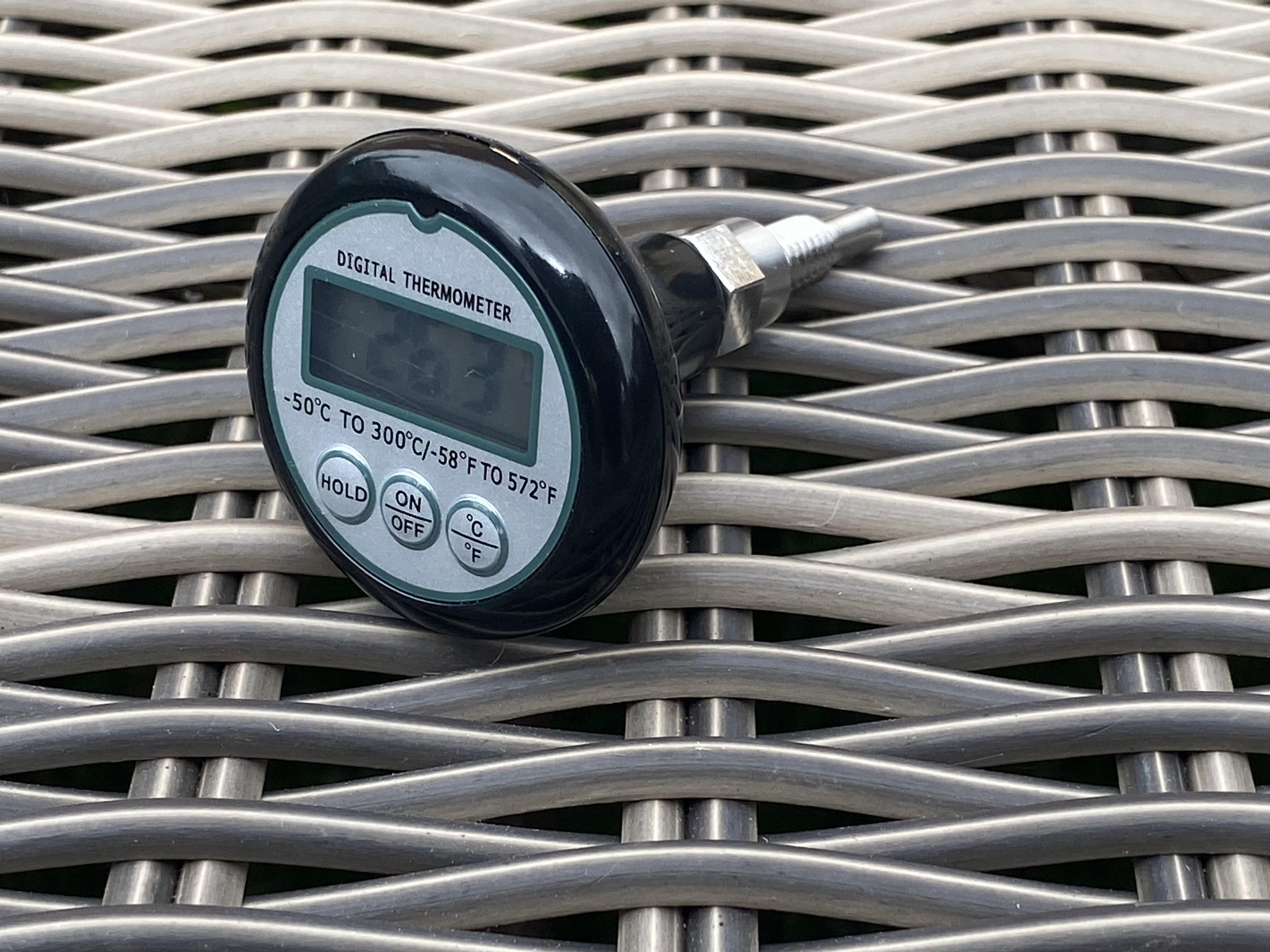 E61 Group thermometer