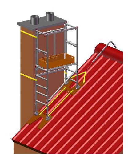 6 in 1 Chimney Access Tower - image 5