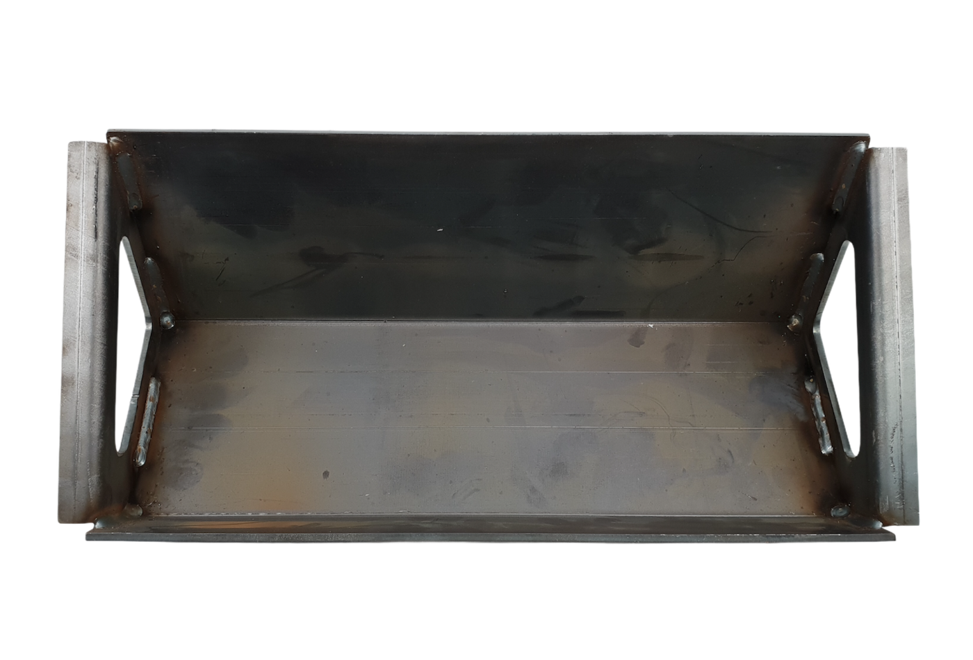 A recouping baffle plate suitable for an Hunter Herald 8 CEVII stove.