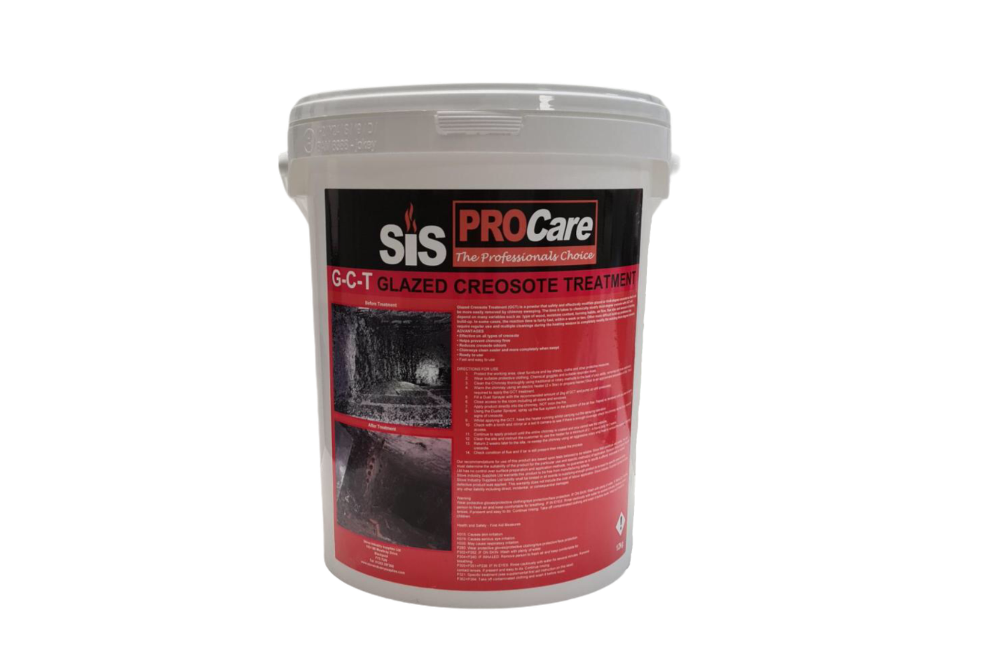 SiS GCT - Glazed Creosote Treatment - 12kg Tub