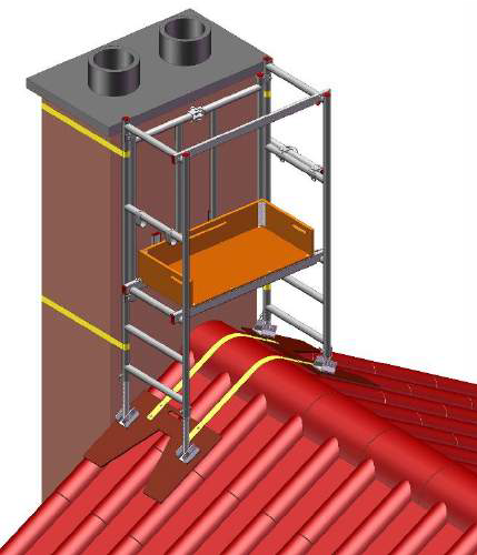 6 in 1 Chimney Access Tower - image 1