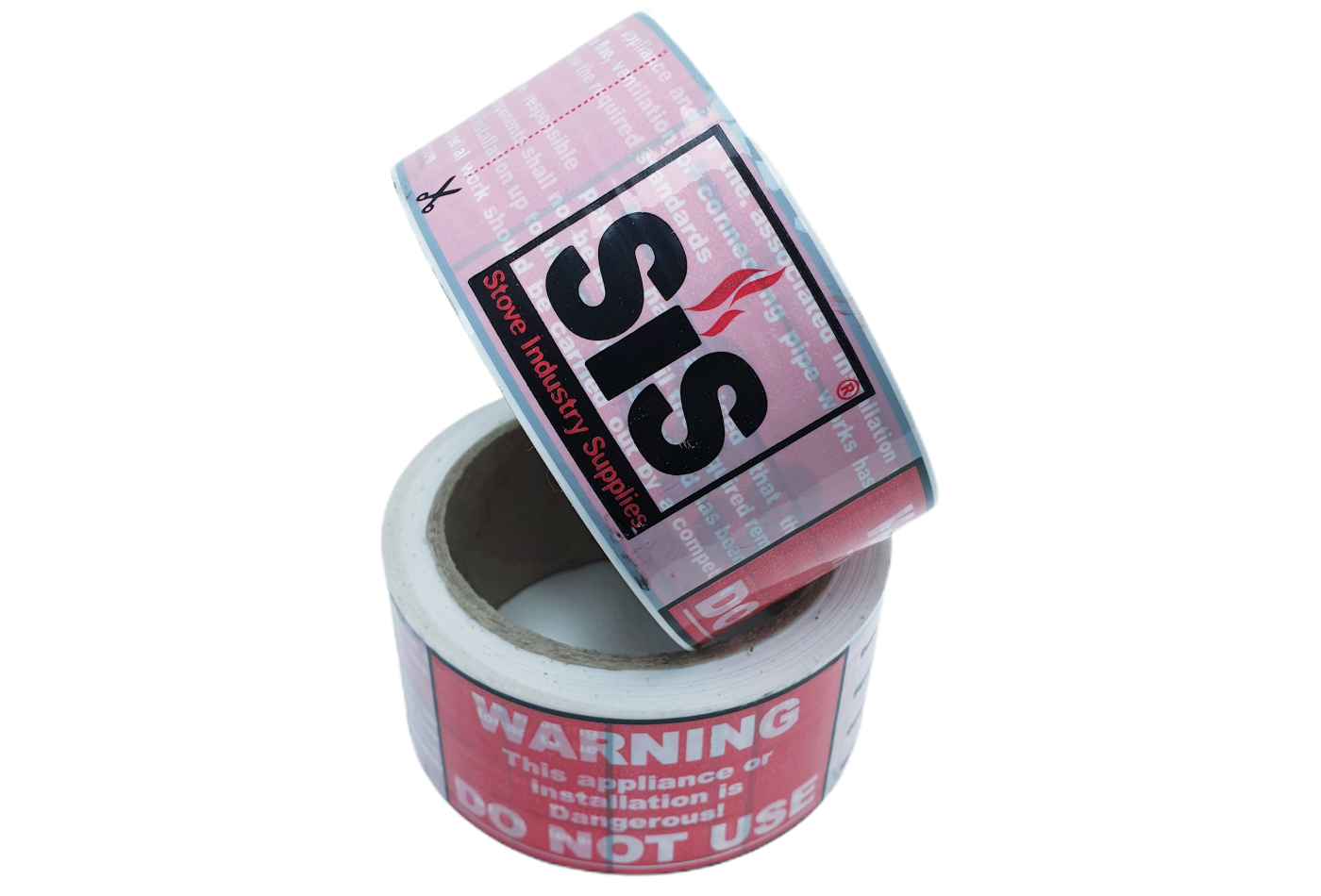 SiS Warning Notice Tape - 2 Rolls