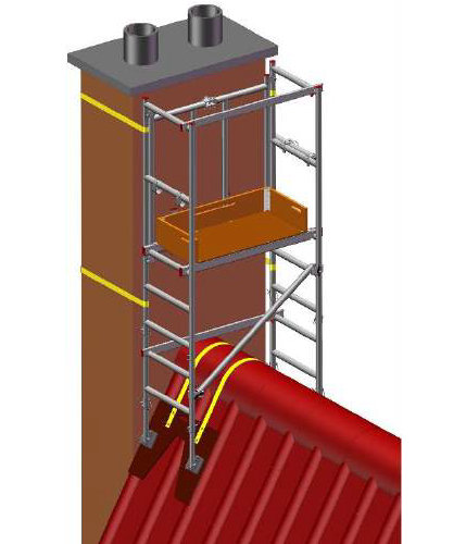 6 in 1 Chimney Access Tower - image 2