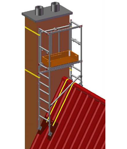 6 in 1 Chimney Access Tower - image 3