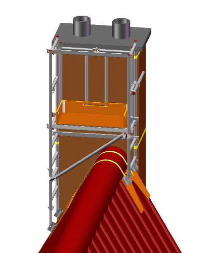 6 in 1 Chimney Access Tower - image 4