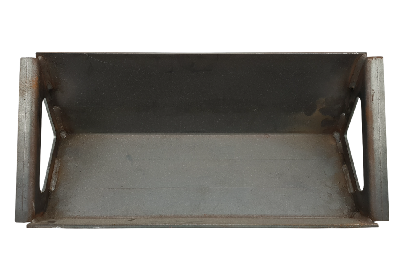 A recouping baffle plate suitable for an Hunter Herald 14 CEVII stove.