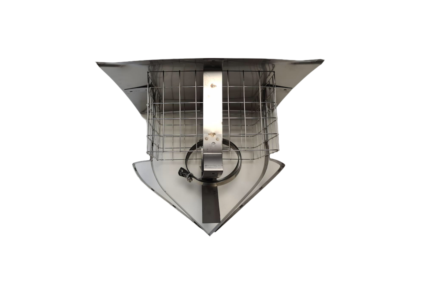 SiS Square Pot Cowl - Stainless Steel