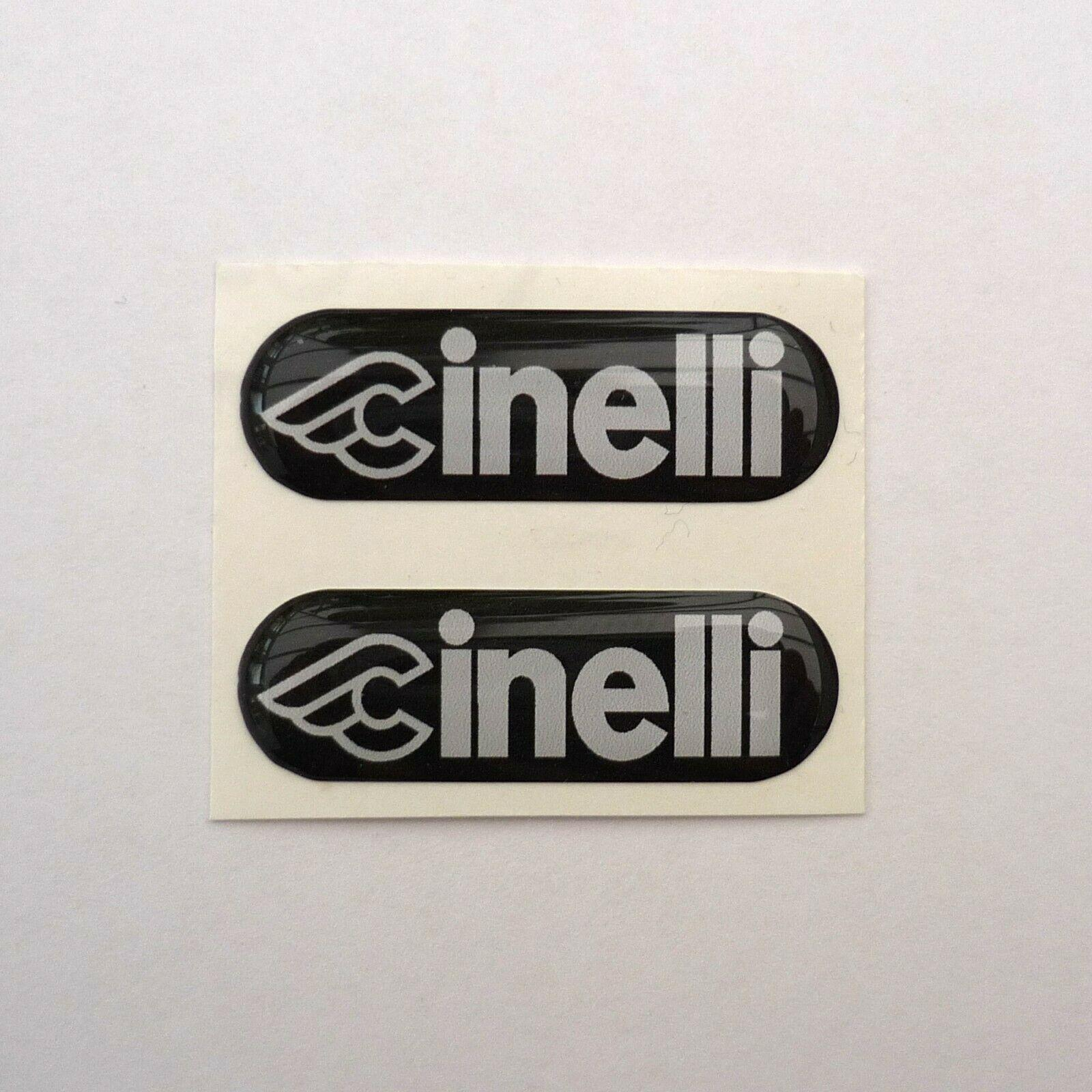 Renovation or Damaged Vintage Replacement Cinelli Supercorsa Seat Stay Badges