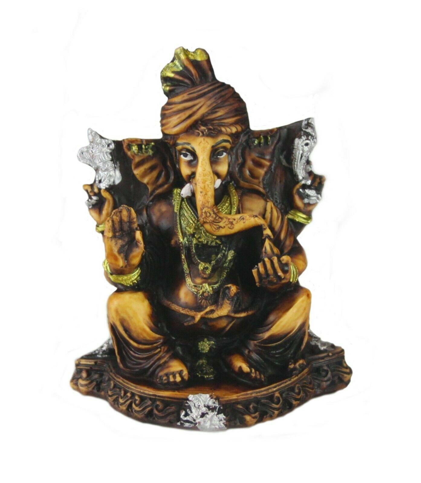 "Details about  /Indian Hindu Goddess OF Wealth Laxmi Lakshmi Standing Décor Statue Idol 7/"""