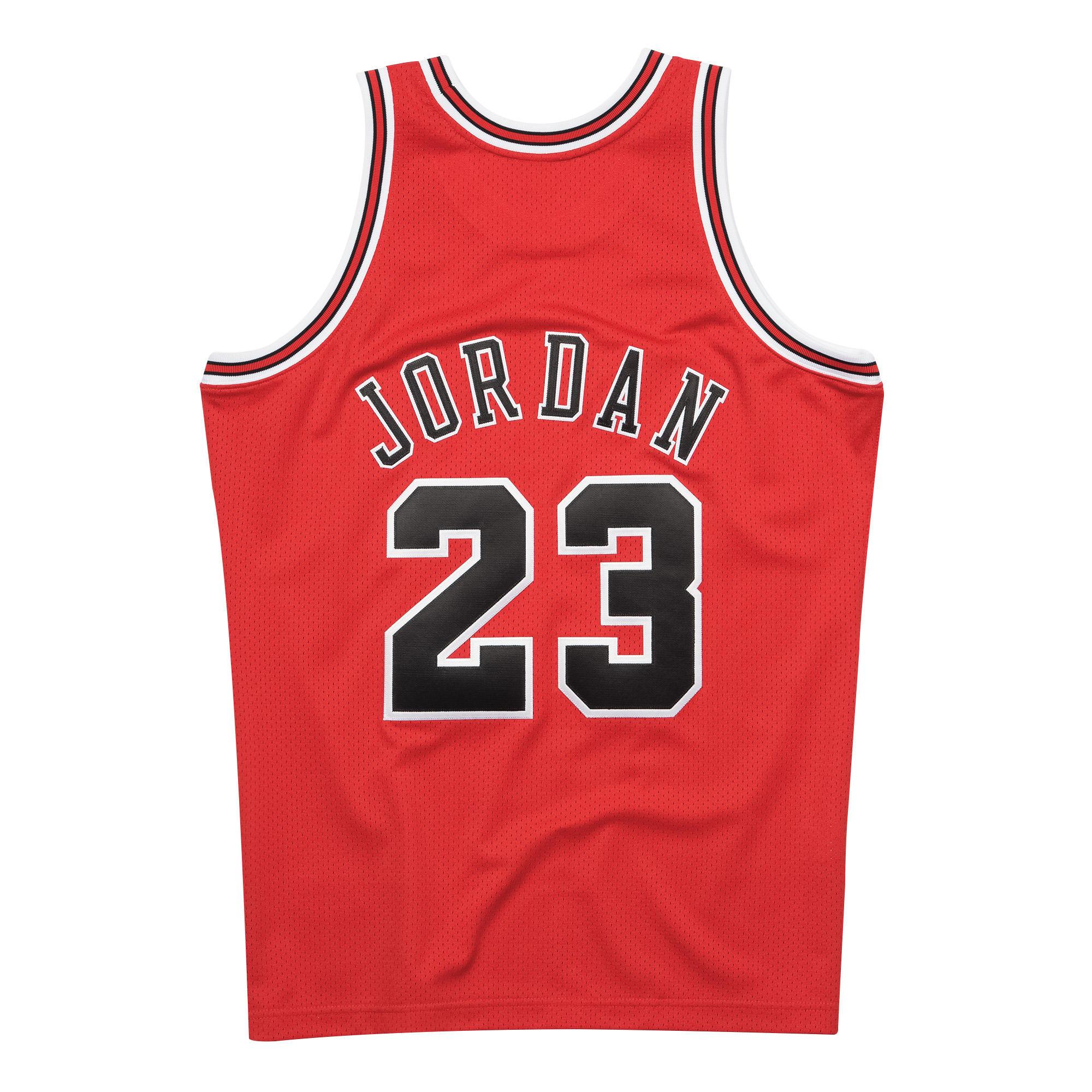Michael Jordan 1997-98 Authentic Jersey Chicago Bulls 52137b3654d