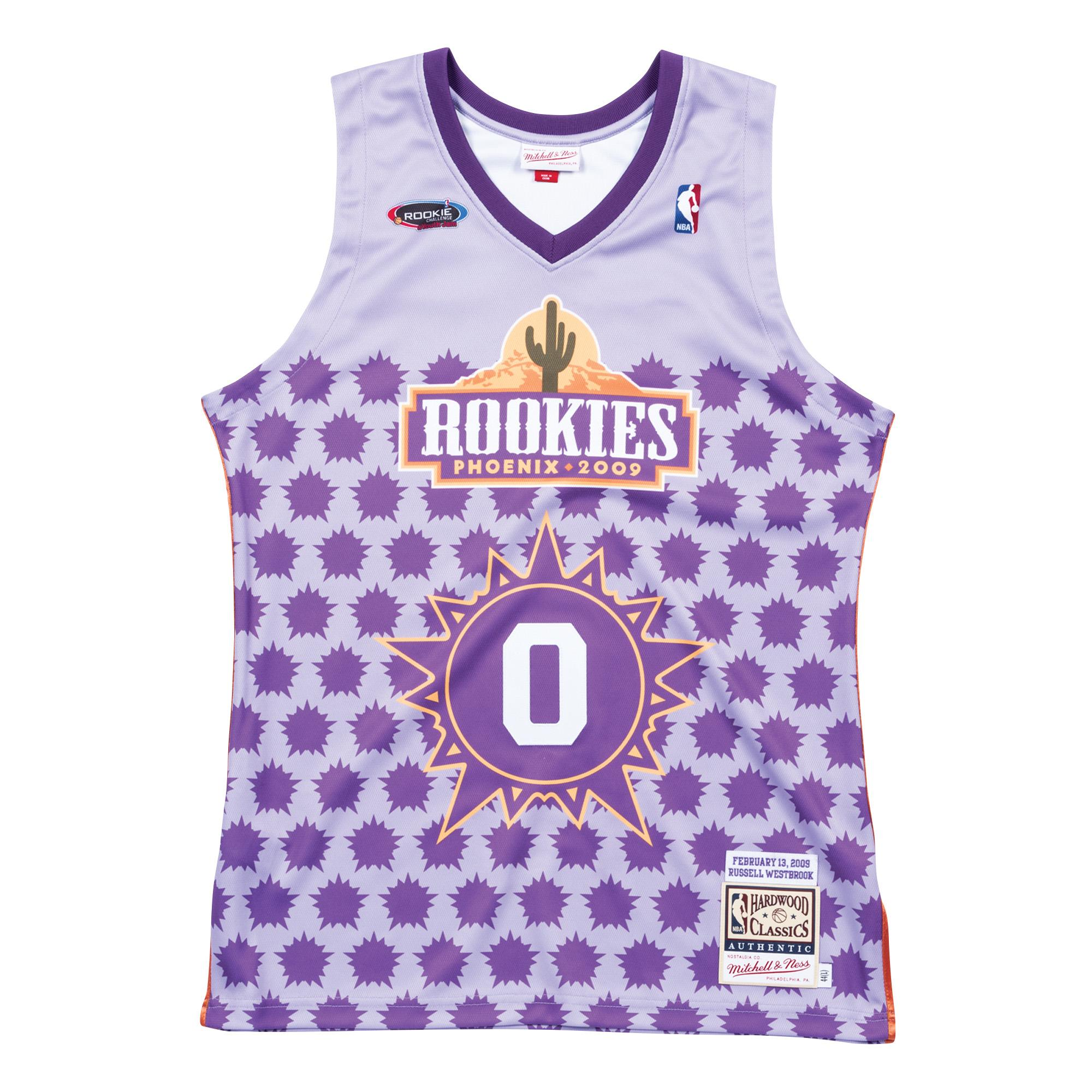 westbrook rookie jersey