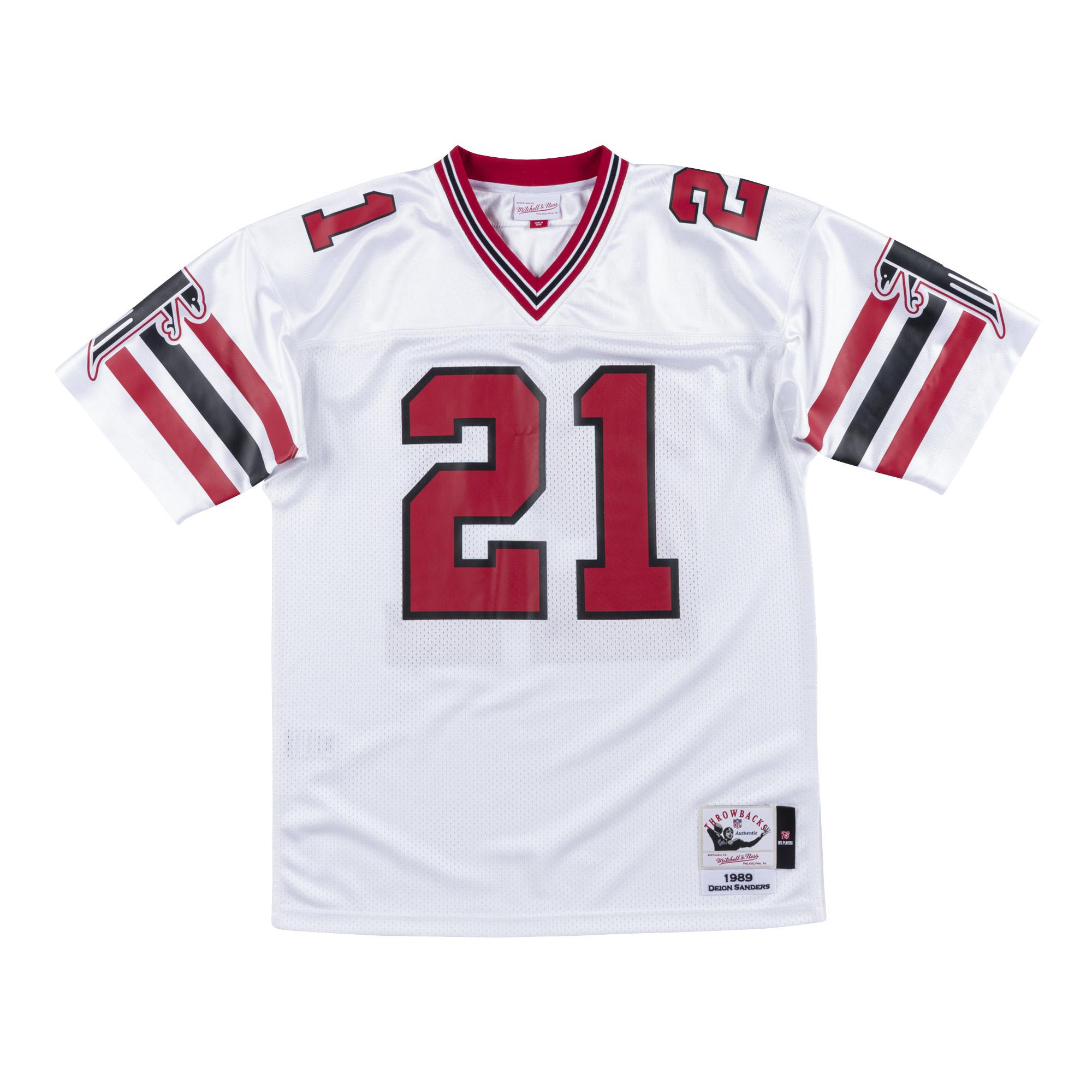 reputable site 18f82 9613f Mitchell & Ness | Atlanta Falcons Authentic Jersey Deion Sanders