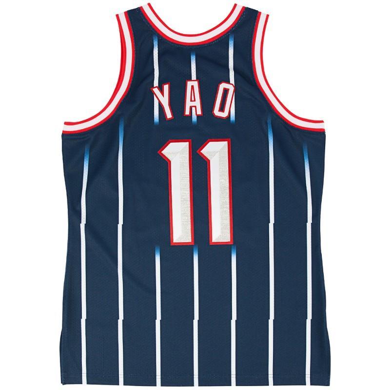 Houston Rockets Jersey Uk: Yao Ming 2002-03 Authentic Jersey Houston Rockets Mitchell